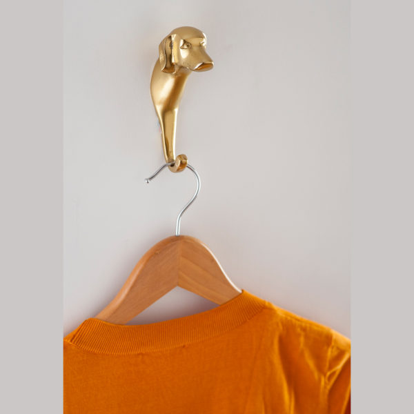 Dog wall hook for clothes