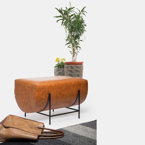 Leather Bench for Livingrrom