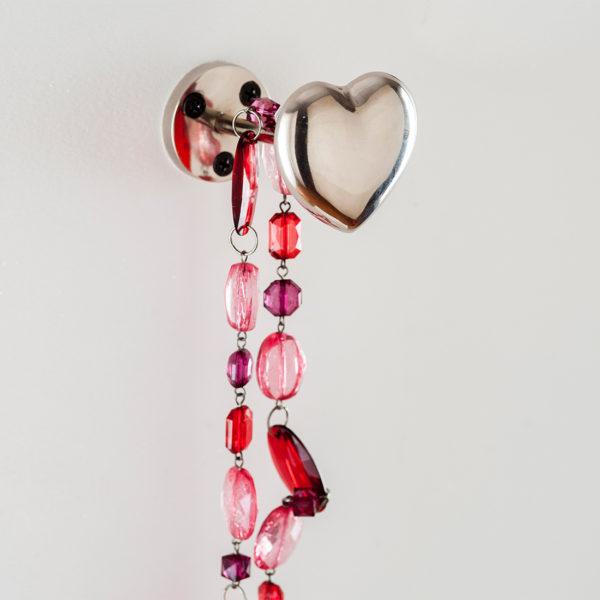 Heart wall hook