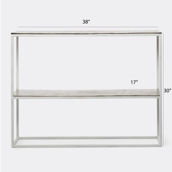 Contemporary Metal Console Table for livingroom