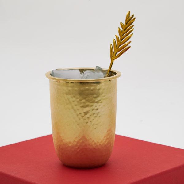 Brass glass india