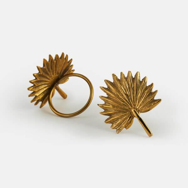 Brass Napkin Rings India