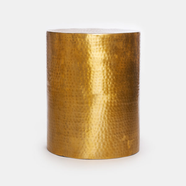 Gold side table Topp Brass