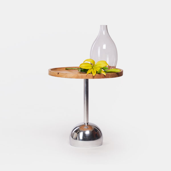 Wooden side table small