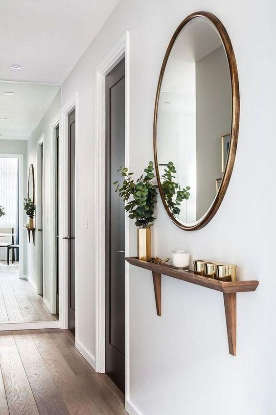 mirror near front door