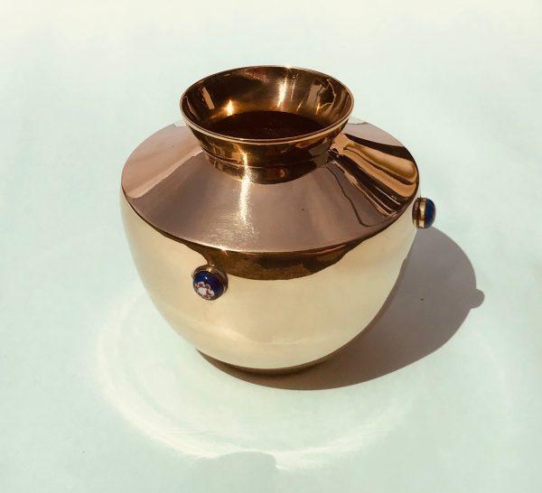Brass urn - Topp Brass