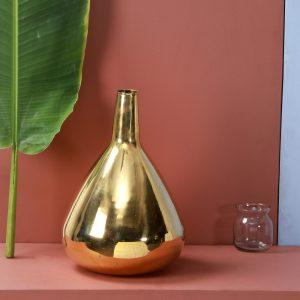 Brass Vase - Topp