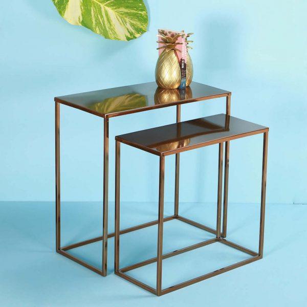 Metal Nesting Table set