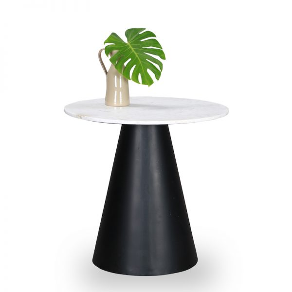 Marble display table : Topp Brass