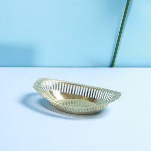 Brass serving dish : Topp Brass
