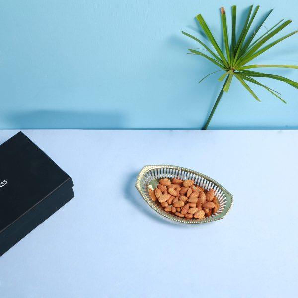 Brass nut dish