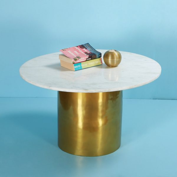 Gold coffee table online