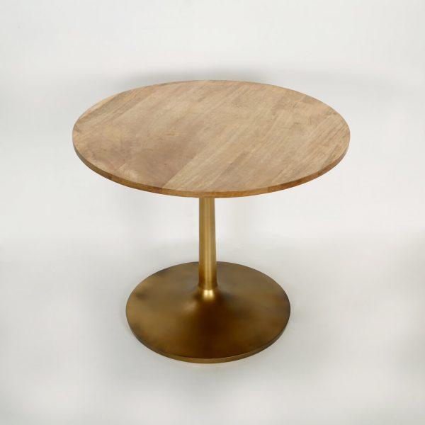 Top brass : Pedestal Table
