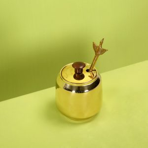 Brass ghee pot : Topbrass